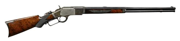 EXTREMELY RARE WINCHESTER MODEL 1873 DELUXE