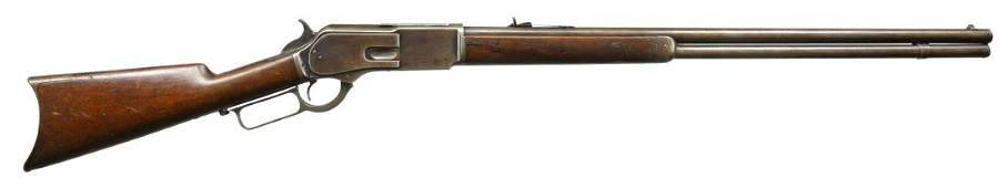 WINCHESTER MODEL 1876 LEVER ACTION RIFLE.