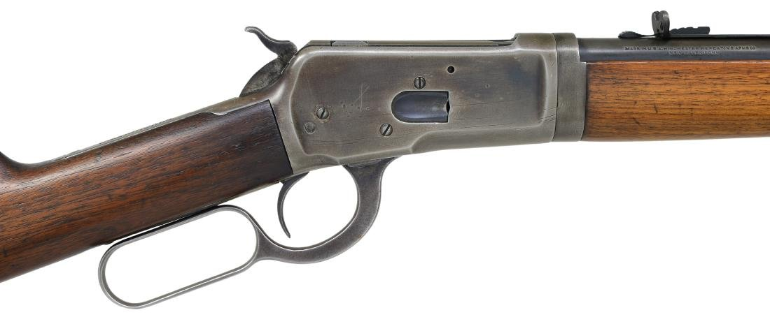 WINCHESTER MODEL 53 TAKEDOWN LEVER ACTION RIFLE. - 3