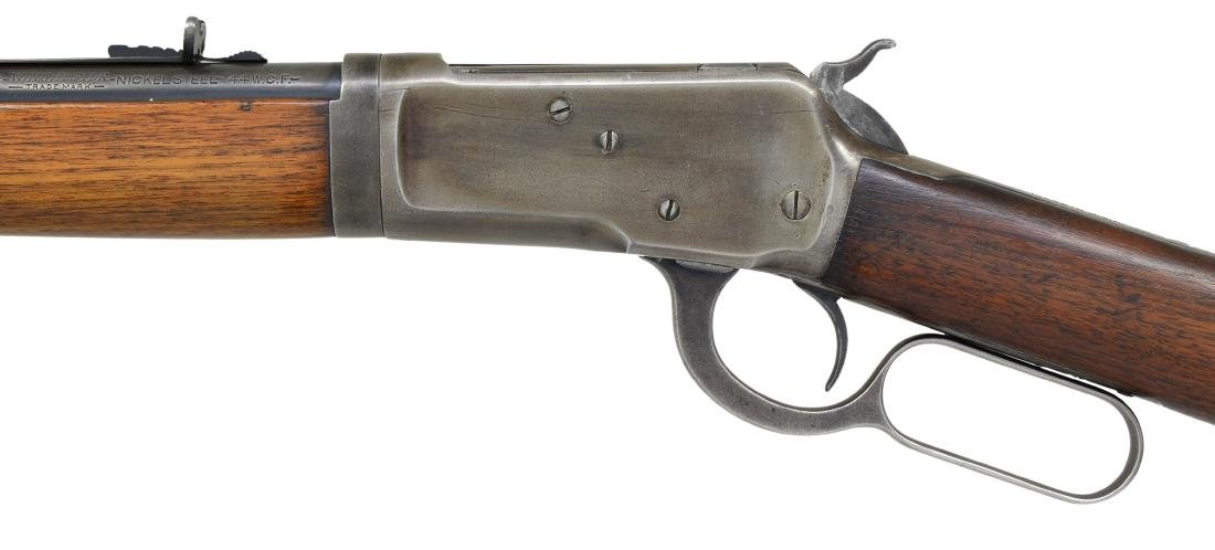 WINCHESTER MODEL 53 TAKEDOWN LEVER ACTION RIFLE. - 4