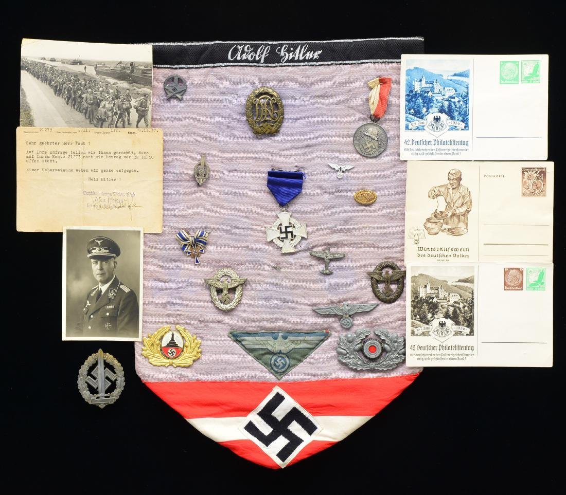 WWII GERMAN MEDALS, BADGES, INSIGNIA & MORE.