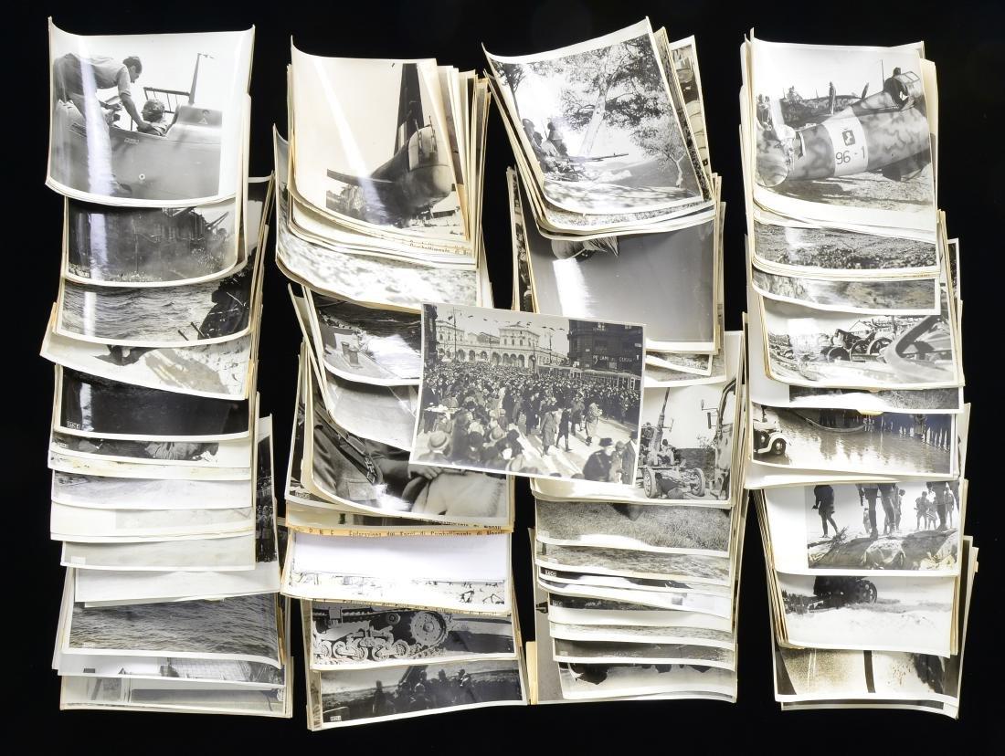 WWII ITALIAN MILITARY PHOTOS.