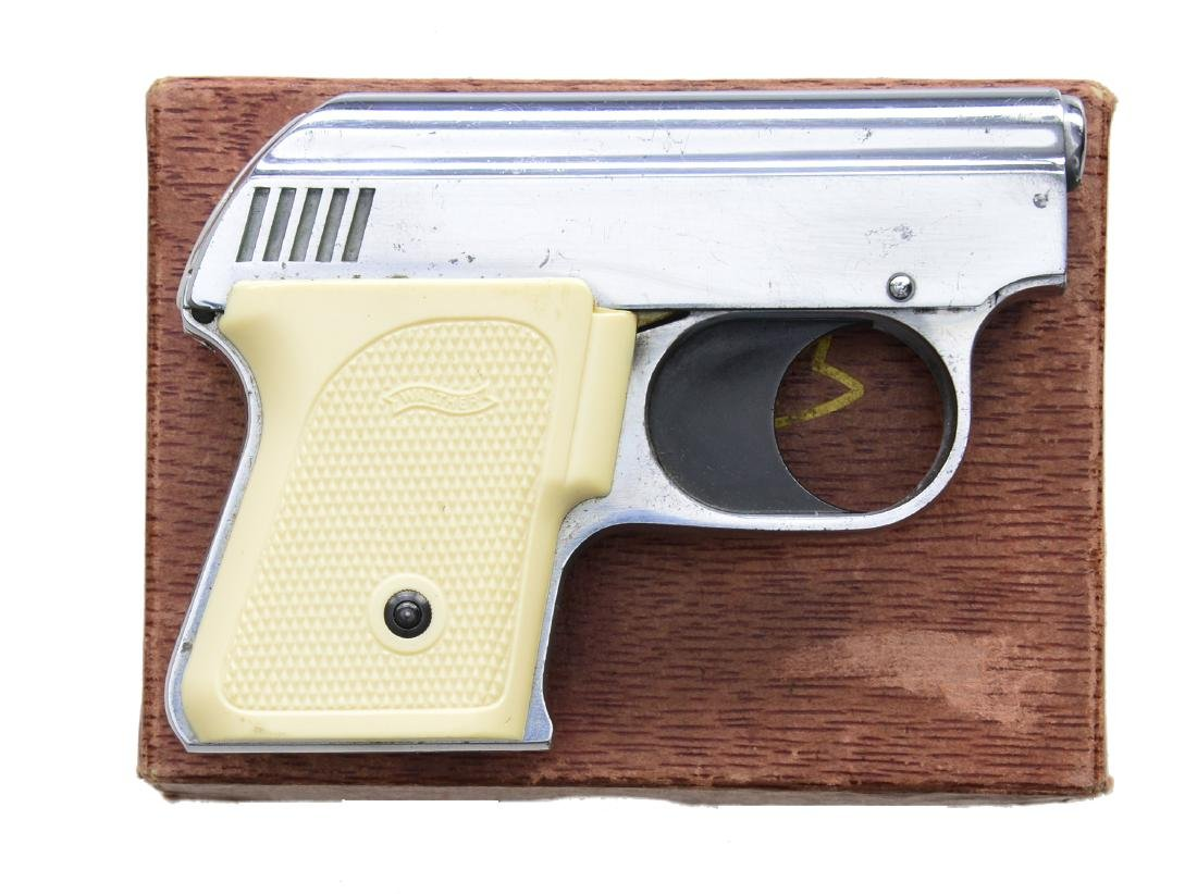 WALTHER UP MOD. 1 BLANK / FLARE PISTOL.
