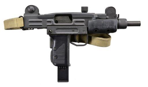 Vector Illustration Firearms - Uzi 9mm Clipart - Full Size Clipart  (#1113142) - PinClipart