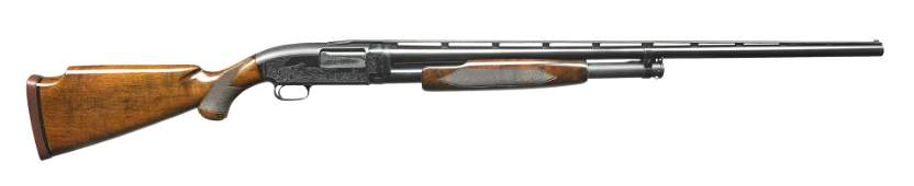 WINCHESTER MODEL 12 FACTORY ENGRAVED