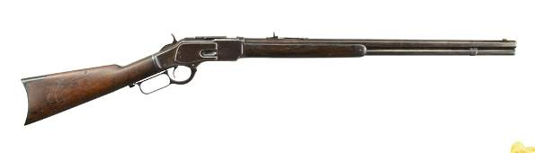 WINCHESTER MODEL 1873 LEVER ACTION RIFLE.