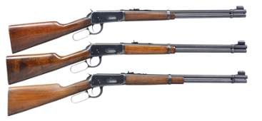 3 WINCHESTER PRE 64 MODEL 94 LEVER ACTION CARBINES