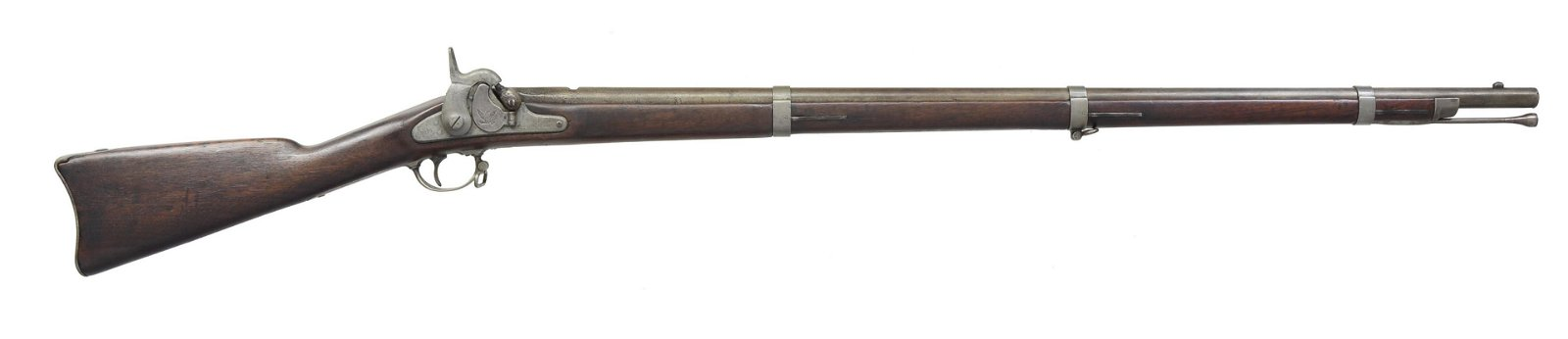 1859 DATED SPRINGFIELD MODEL 1855 RIFLE MUSKET.
