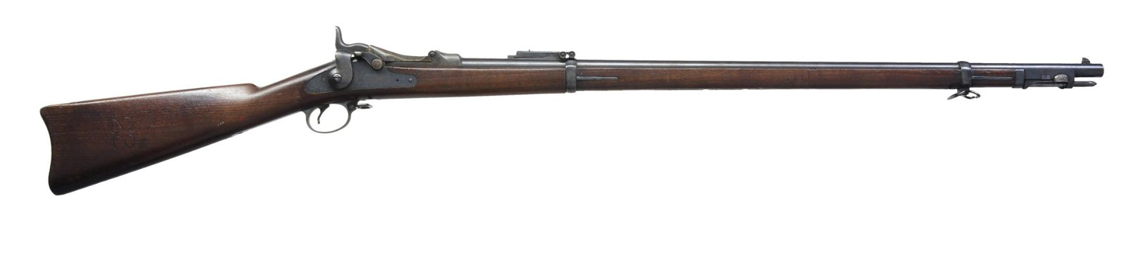 SPRINGFIELD MODEL 1888 TRAPDOOR RIFLE.