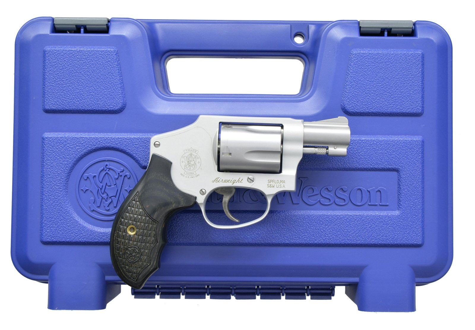 SMITH & WESSON MODEL 642-2 AIRWEIGHT REVOLVER.