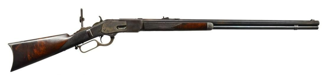 """""""DODGE CITY RIFLE SHOOT"""" MARKED WINCHESTER"""
