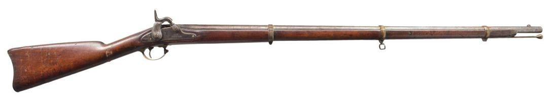 U.S. NORFOLK 1863 DATED CIVIL WAR CONTRACT MUSKET.