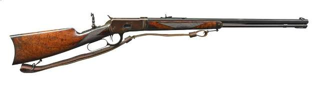 EXTREMELY RARE WINCHESTER 1892 DELUXE LEVER ACTION