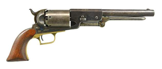 BEAUTIFUL HIGH FINISH COLT WALKER REVOLVER, NEW TO