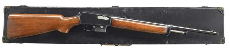 POLICE DEPARTMENT MARKED WINCHESTER 1907 SELF