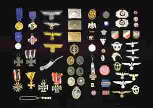 WWI & WWII GERMAN MEDALS, BADGES, INSIGNIA & MORE.