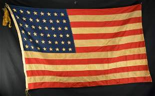 3 AMERICAN FLAGS FROM CHARLESTON UDC MUSEUM.