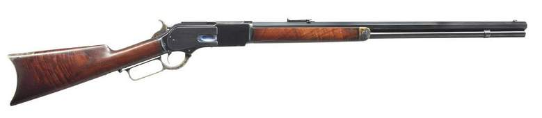 WINCHESTER 1876 EXPRESS LEVER ACTION RIFLE.