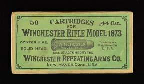 FINE CONDITION EARLY BOX OF WINCHESTER 44 WCF