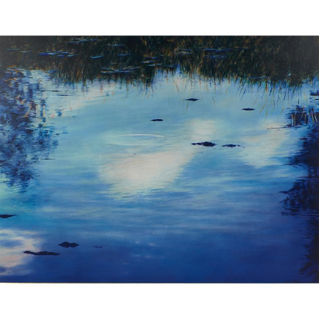 William Allan, Colorado Pond - Blue
