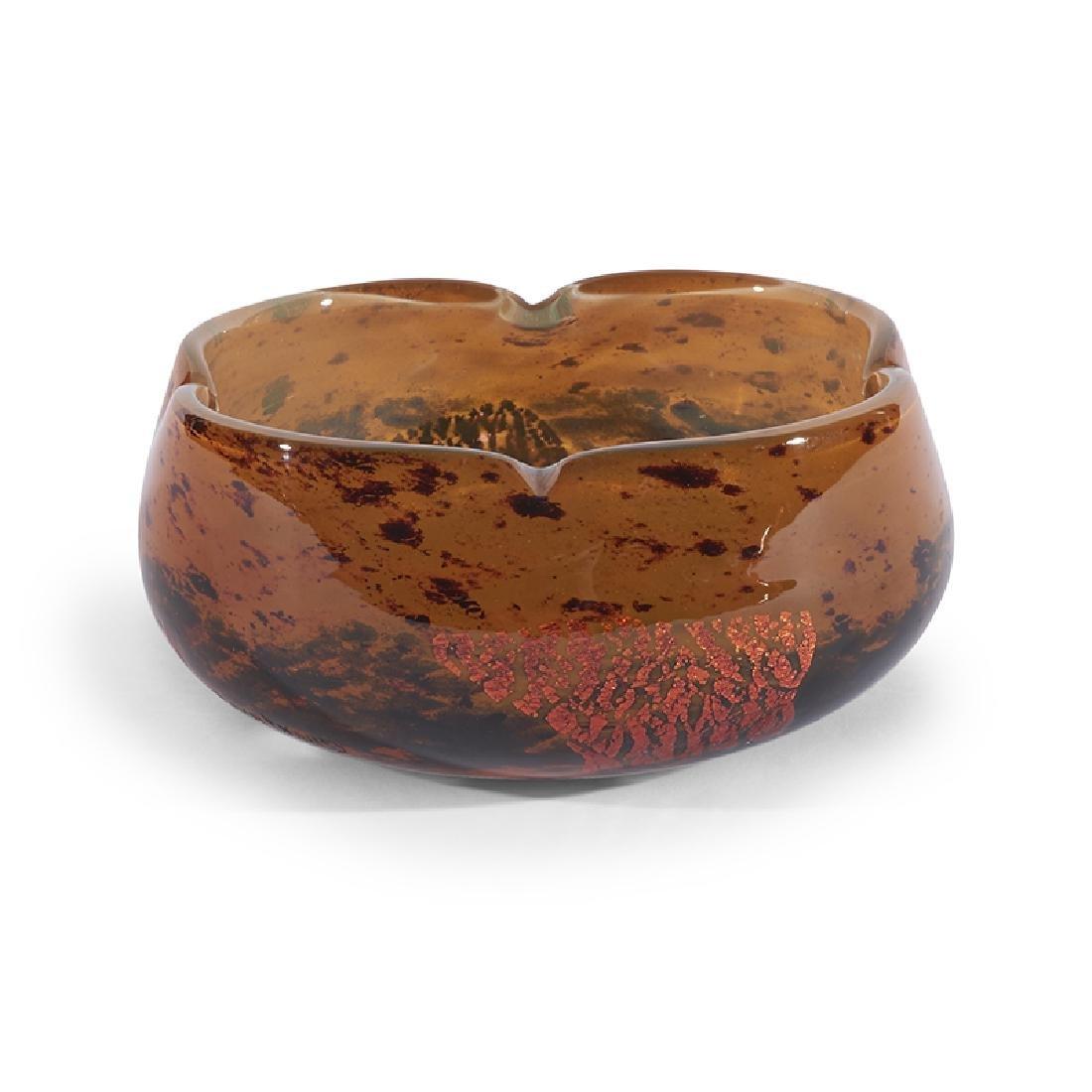 Daum low vase