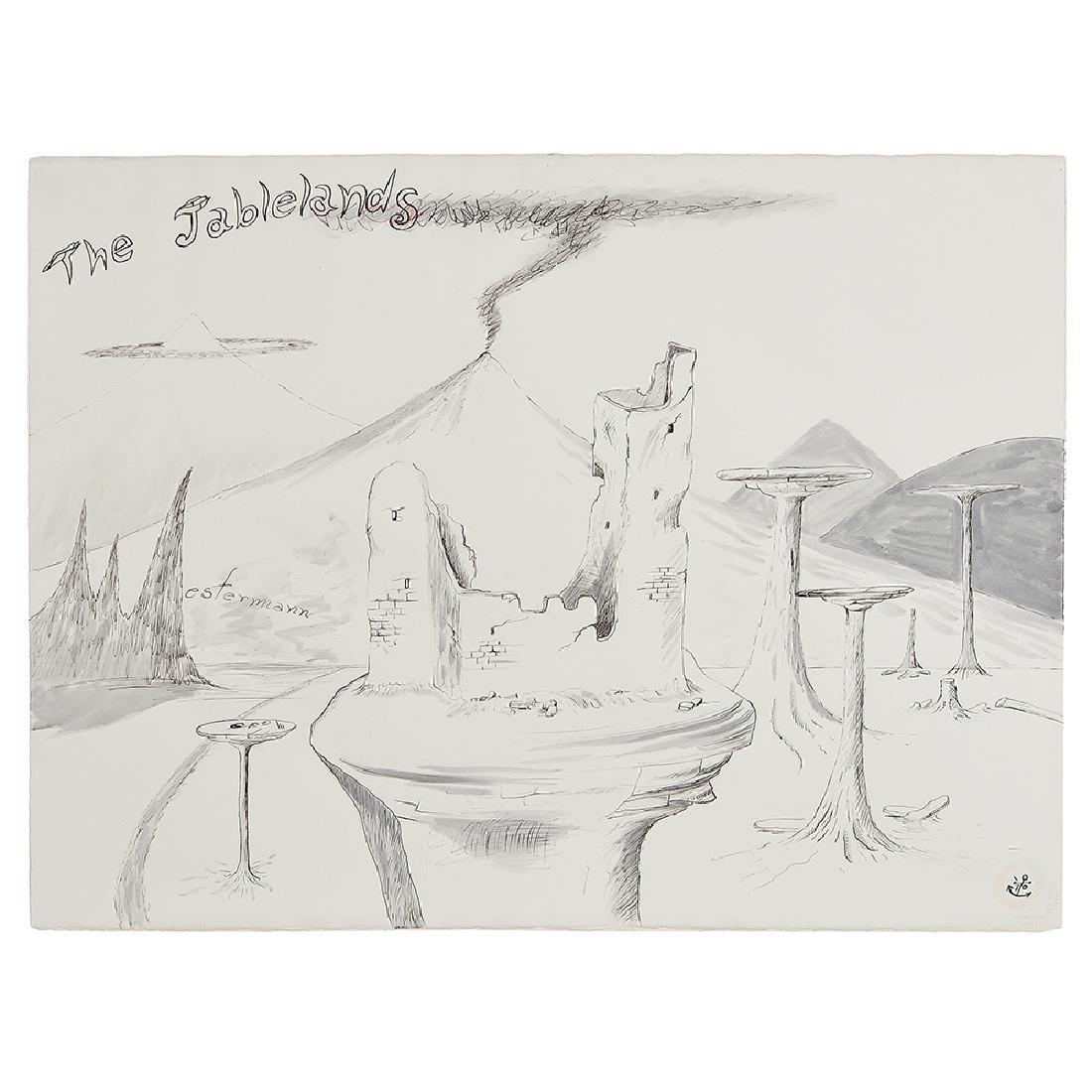 H.C. Westermann, The Tablelands, 1971