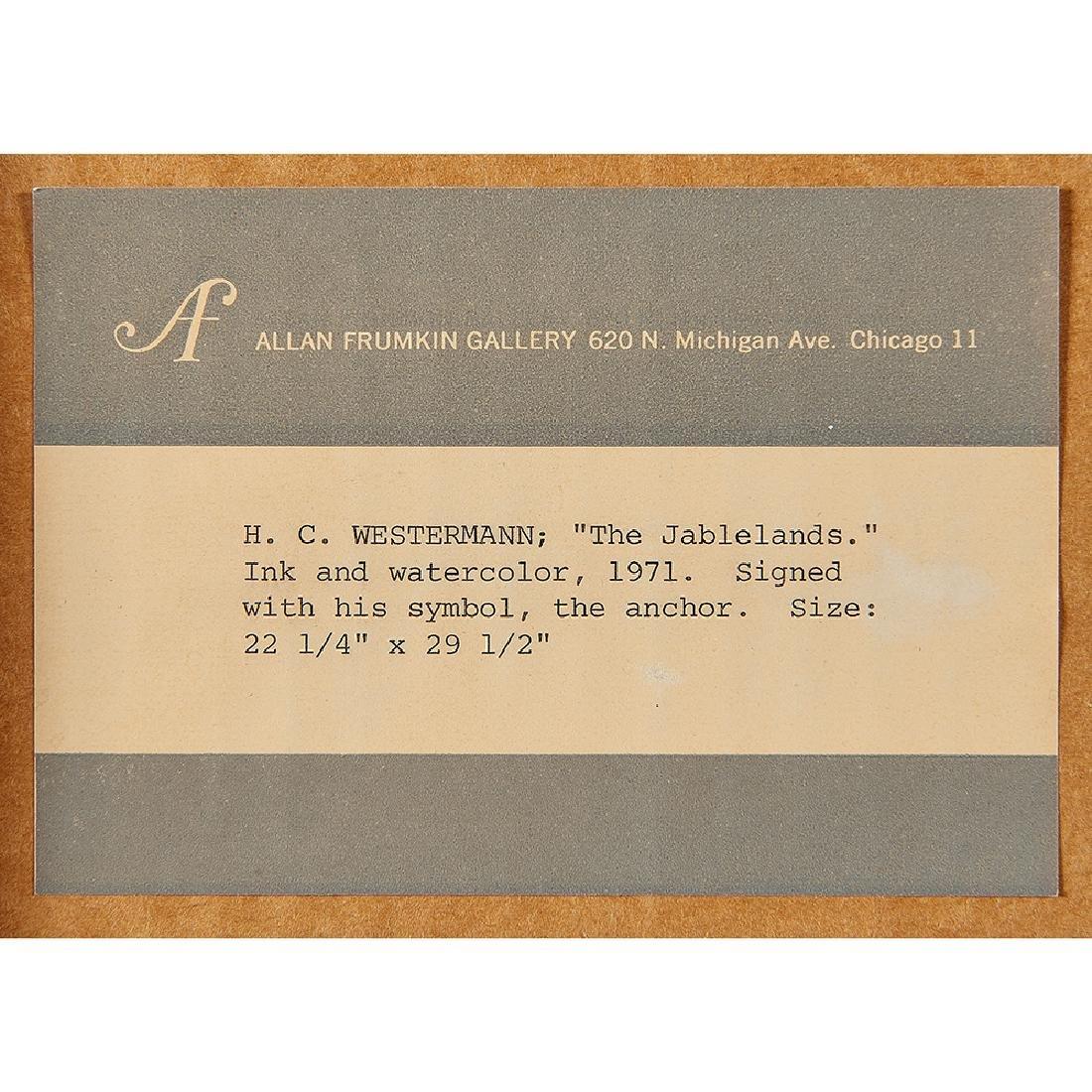 H.C. Westermann, The Tablelands, 1971 - 3