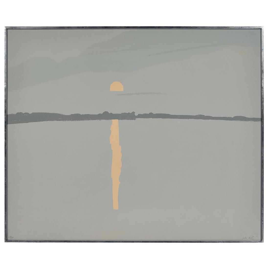 Alex Katz, Sunset, Lake Wesserumett, 1972 - 2