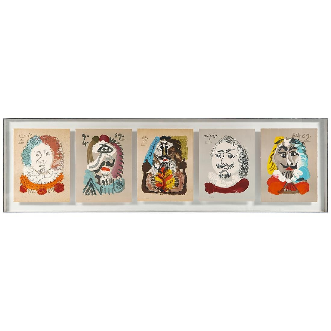 Pablo Picasso, Imaginary Portraits (a group of five)