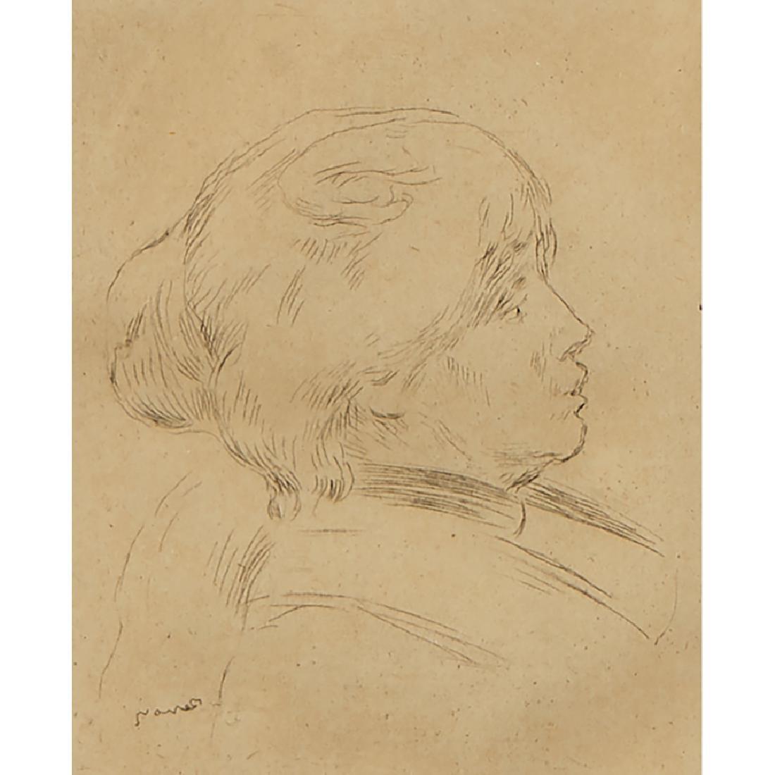 Pierre Auguste Renoir, Berthe Morisot