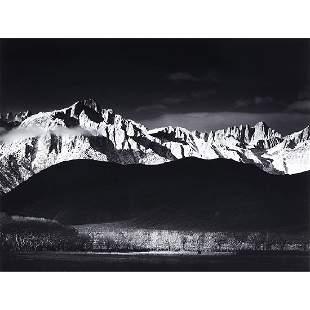 Ansel Adams, Winter Sunrise, Sierra Nevada