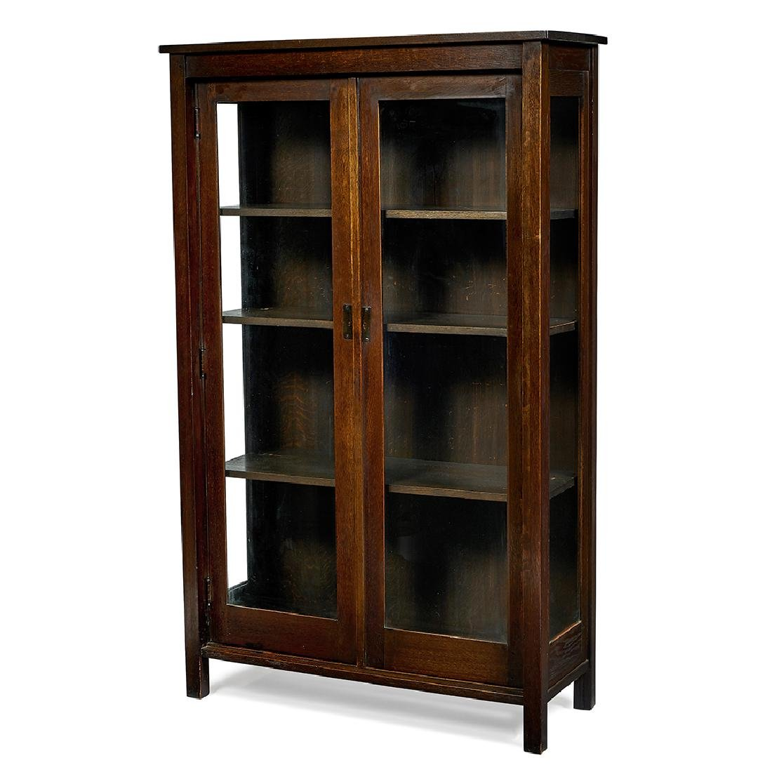 L. & J.G. Stickley china closet (cabinet)