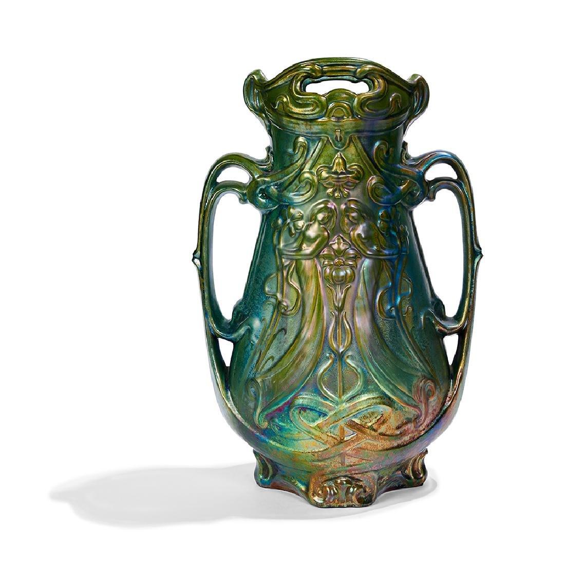 Sicard for Weller Pottery Art Nouveau vase