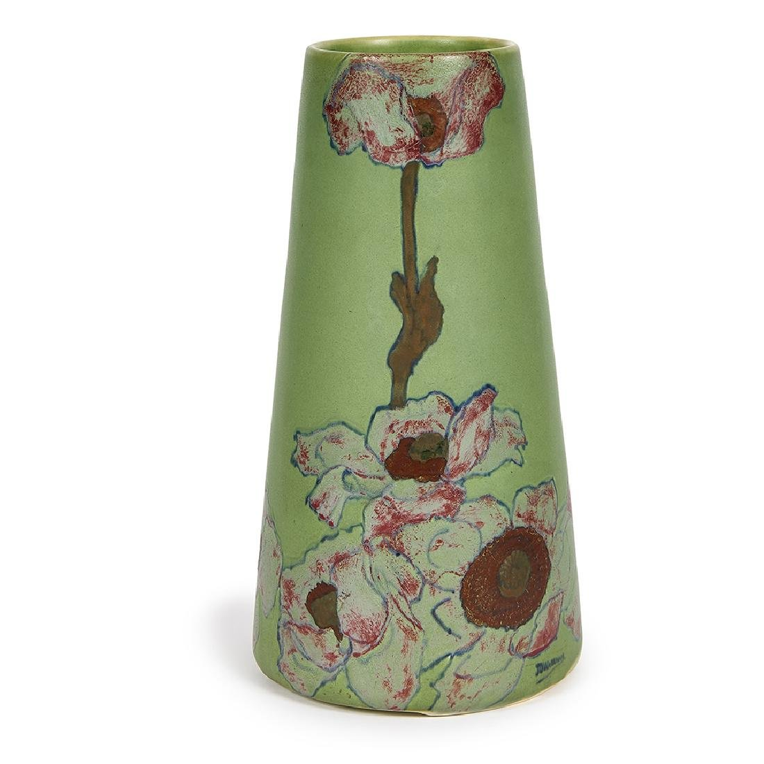 John Wareham for Rookwood Pottery lamp base
