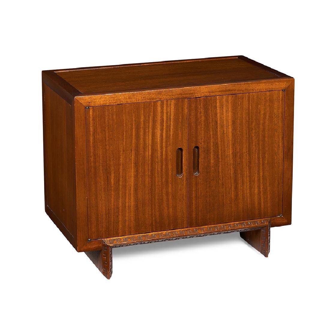 Frank Lloyd Wright / Henredon two door cabinet
