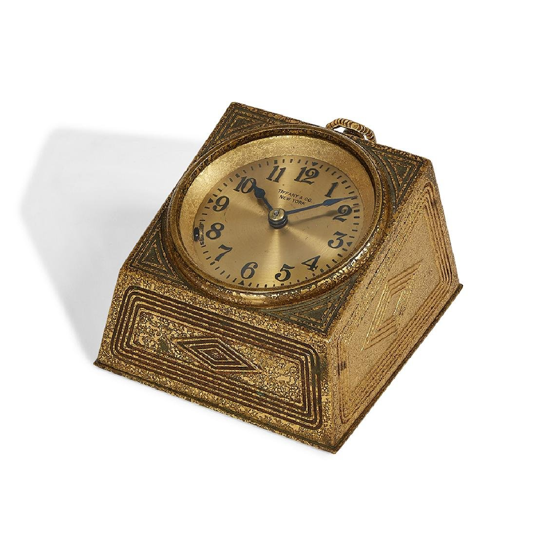 Tiffany Studios Graduate desk clock