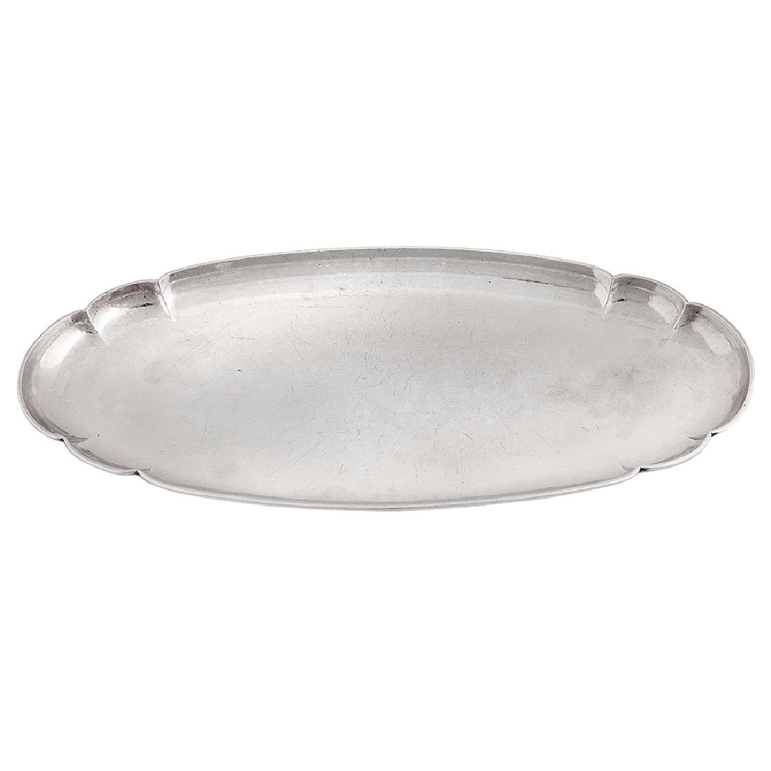 The Kalo Shop lobed oval serving tray