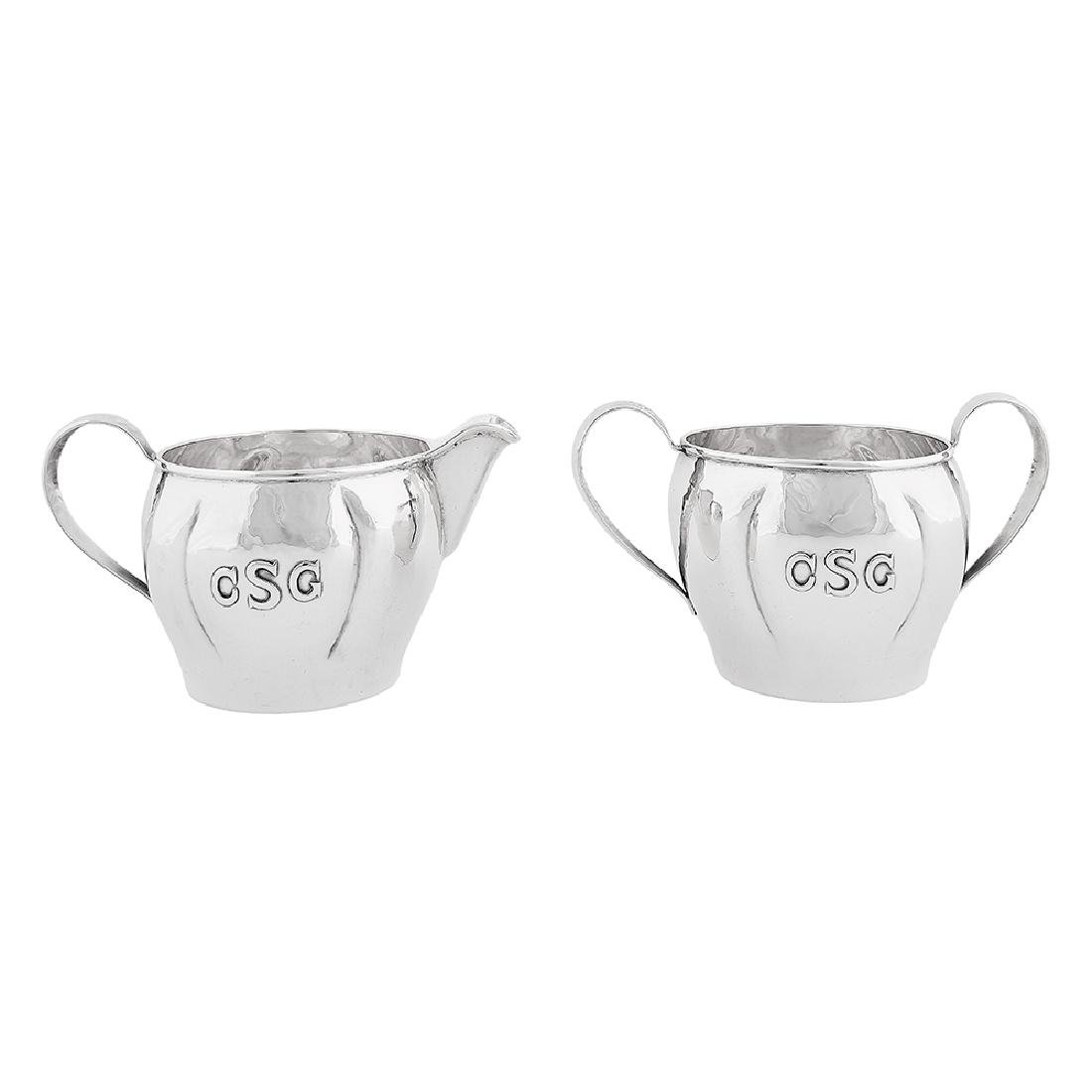 Eicher Studios creamer and sugar set