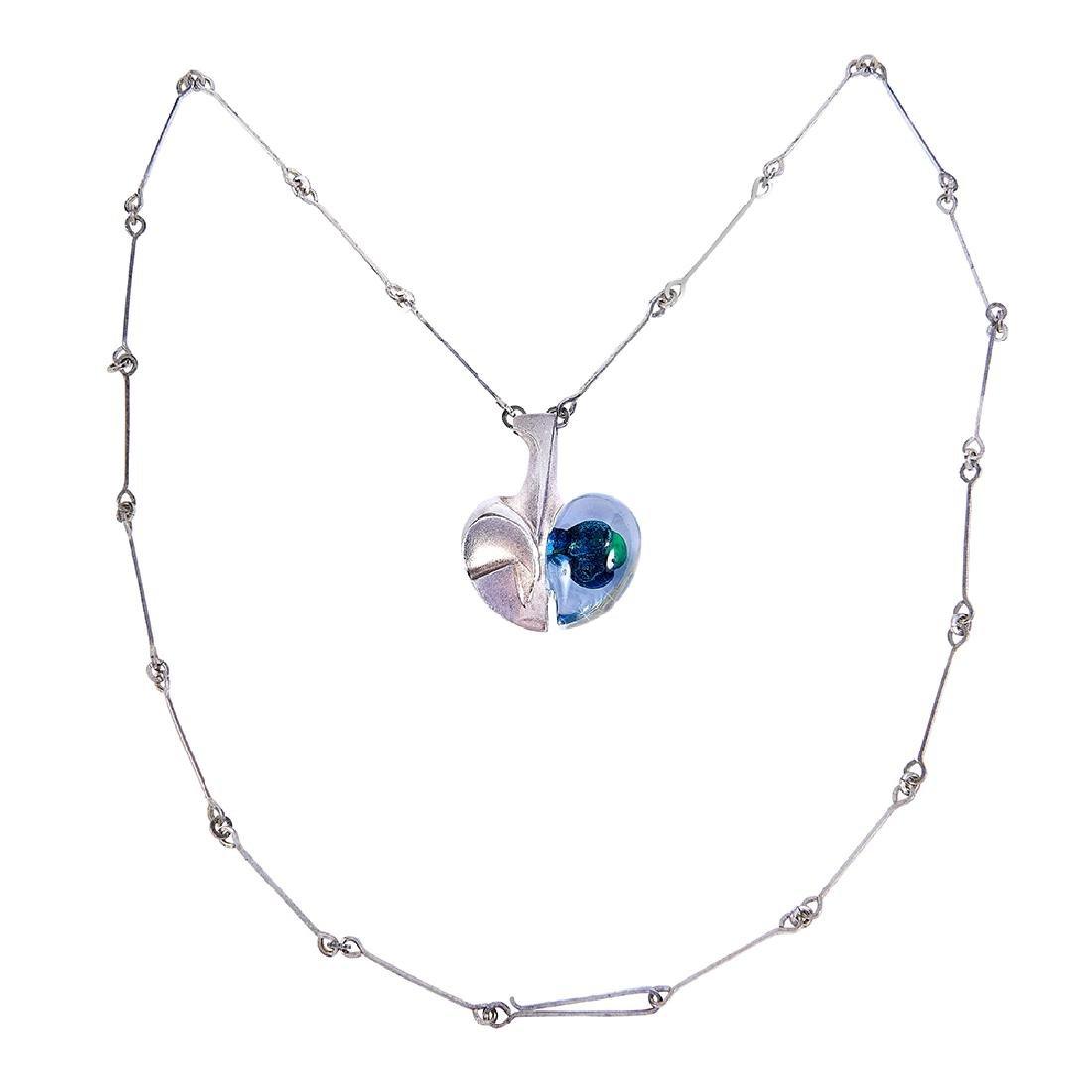 Björn Weckström for Lapponia necklace pendant