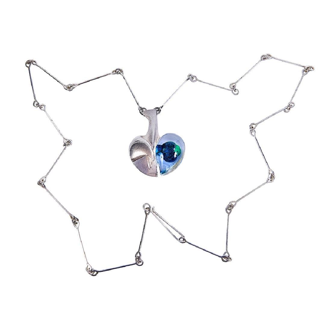Björn Weckström for Lapponia necklace pendant - 3