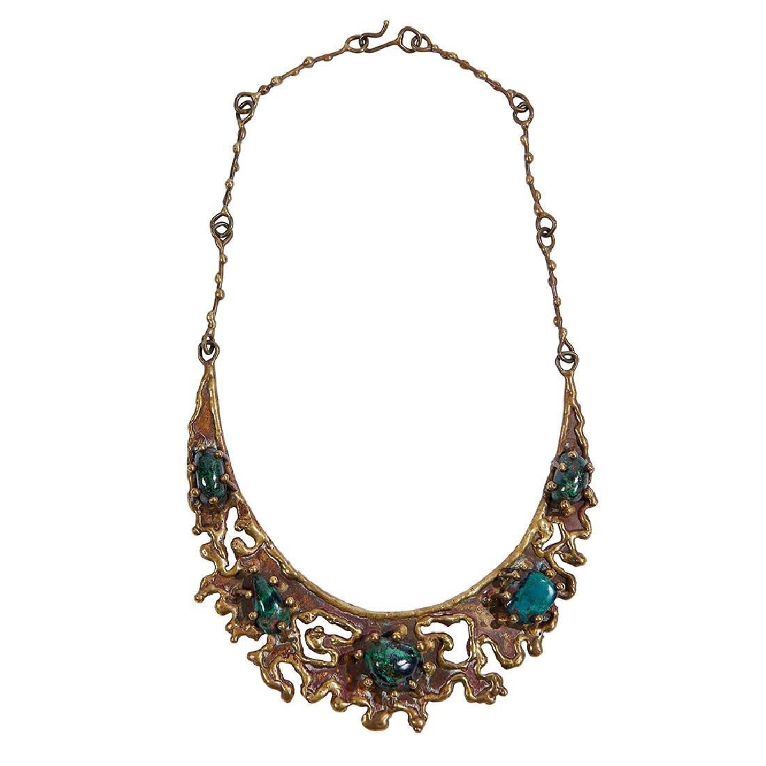 Pal Kepenyes collar necklace