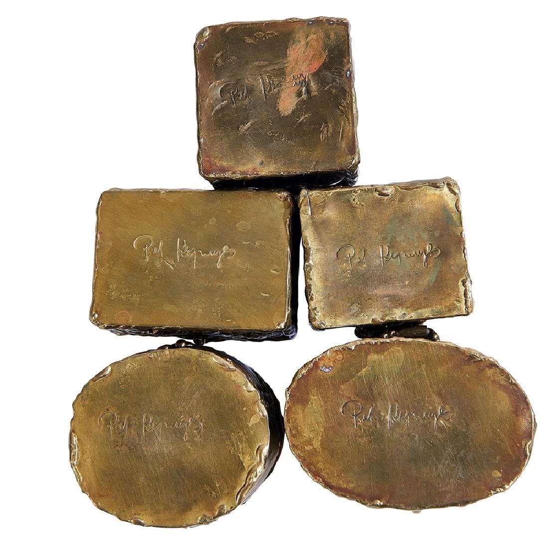 Pal Kepenyes boxes, set of five - 2
