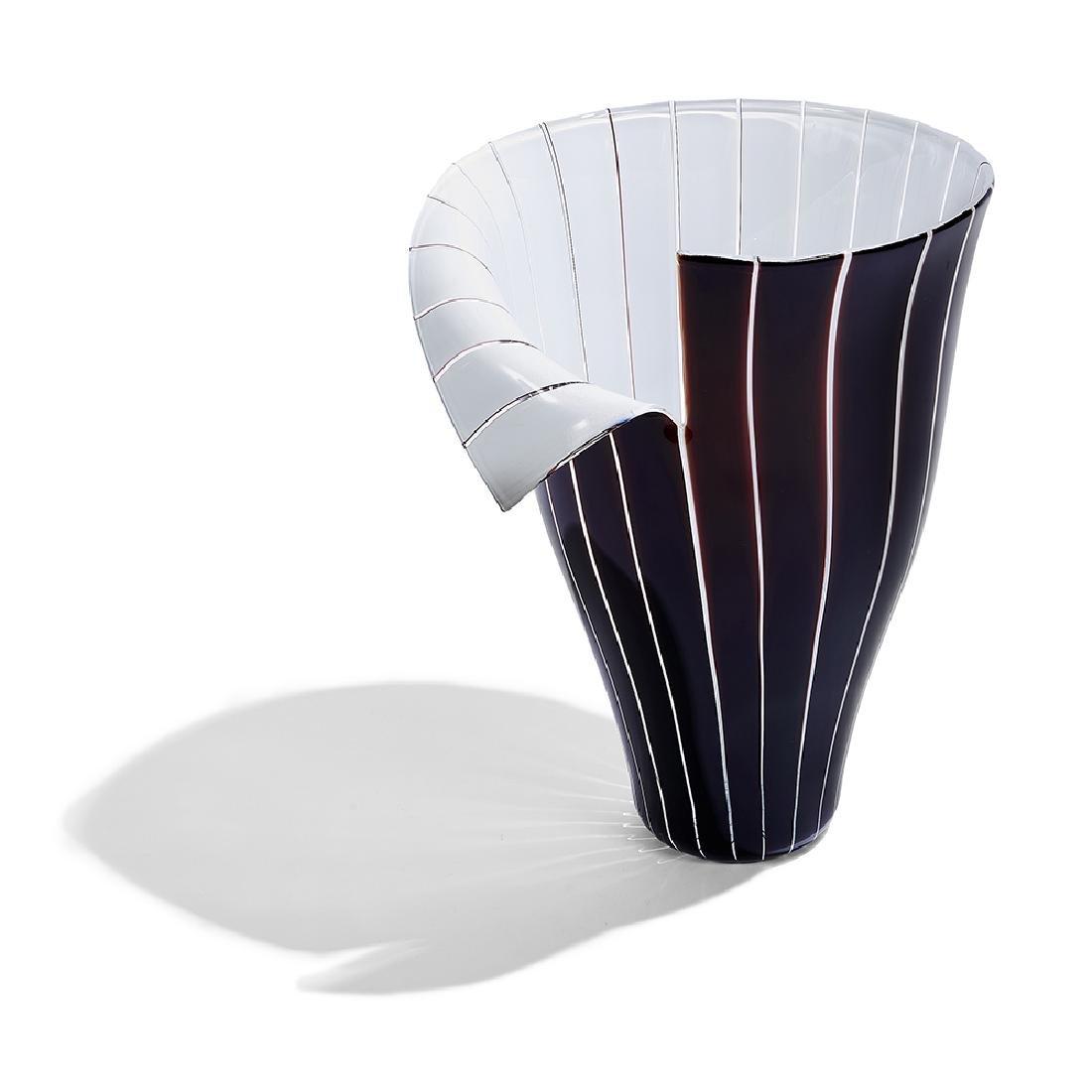 Toni Zuccheri for Barovier & Toso Spacco vase