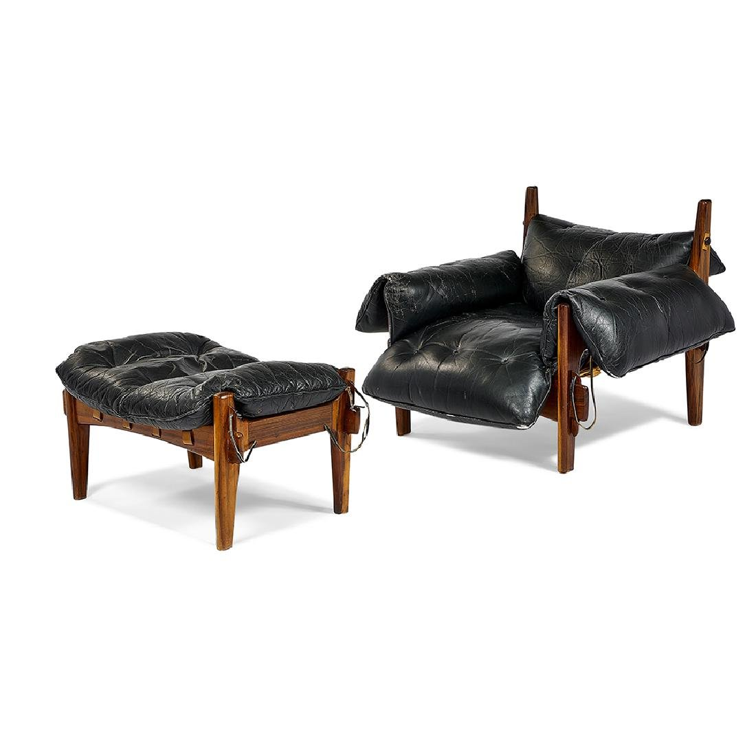 Sergio Rodrigues Mischievous Chair And Ottoman