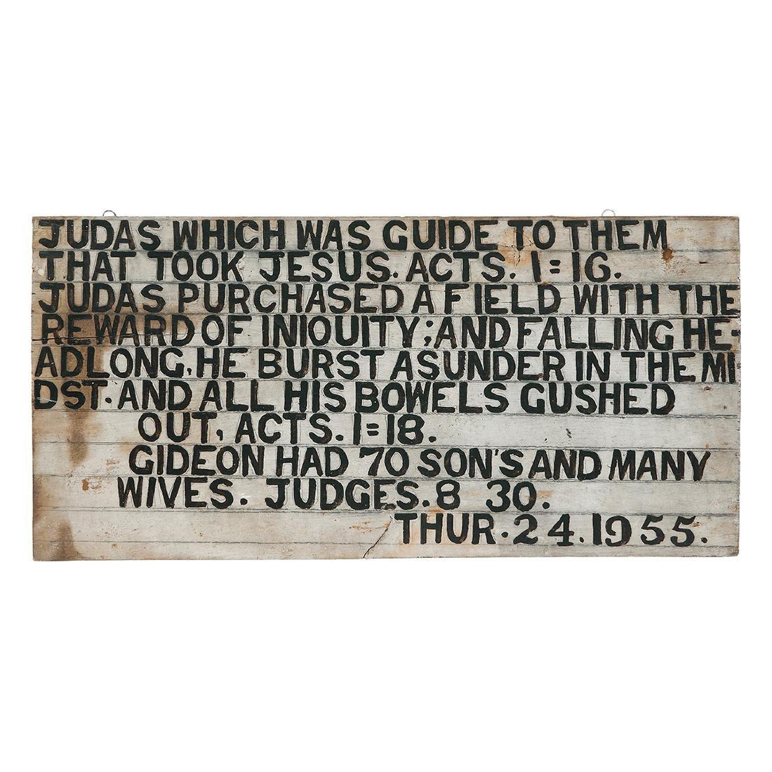 Jesse Howard, Judas