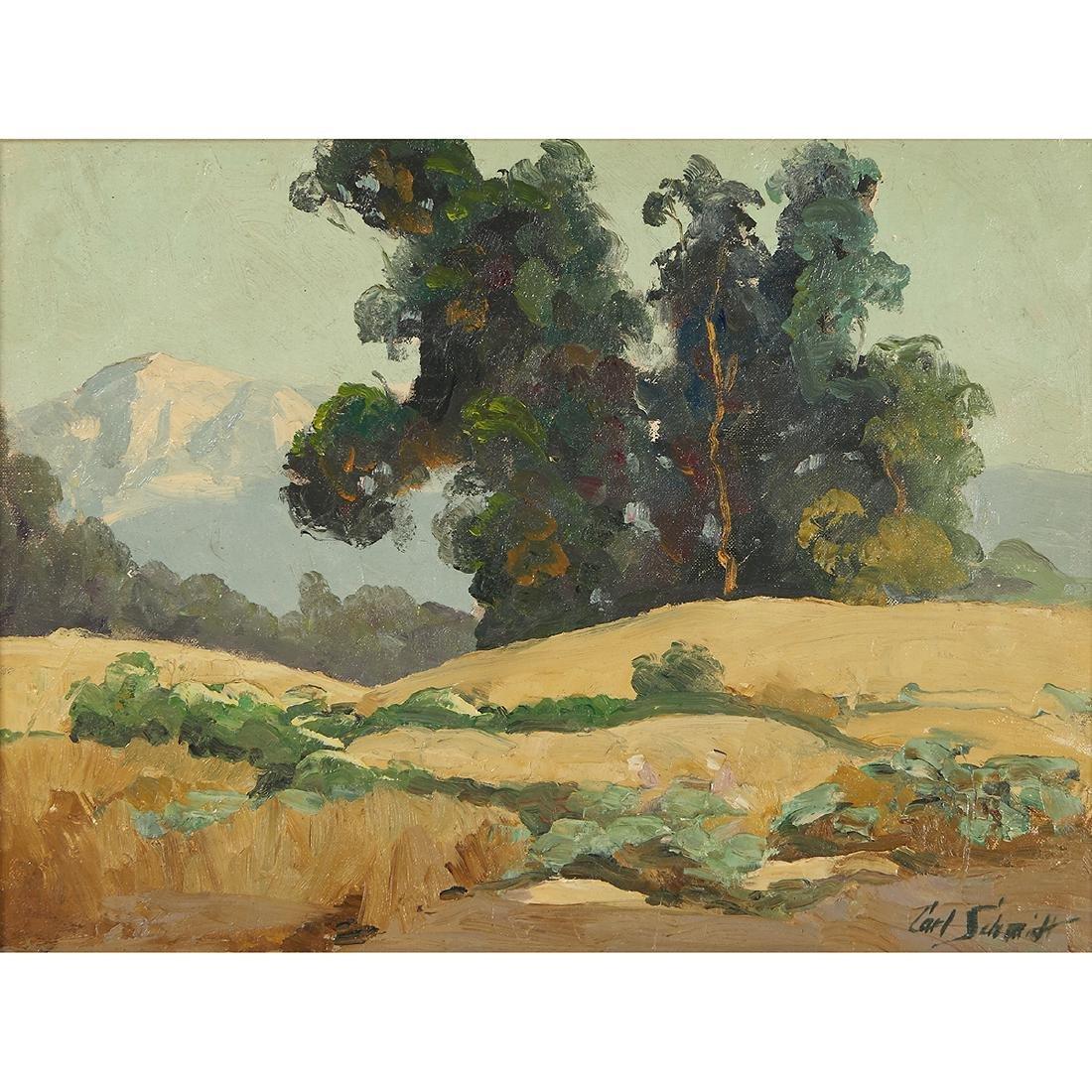 Carl Schmidt, Landscape