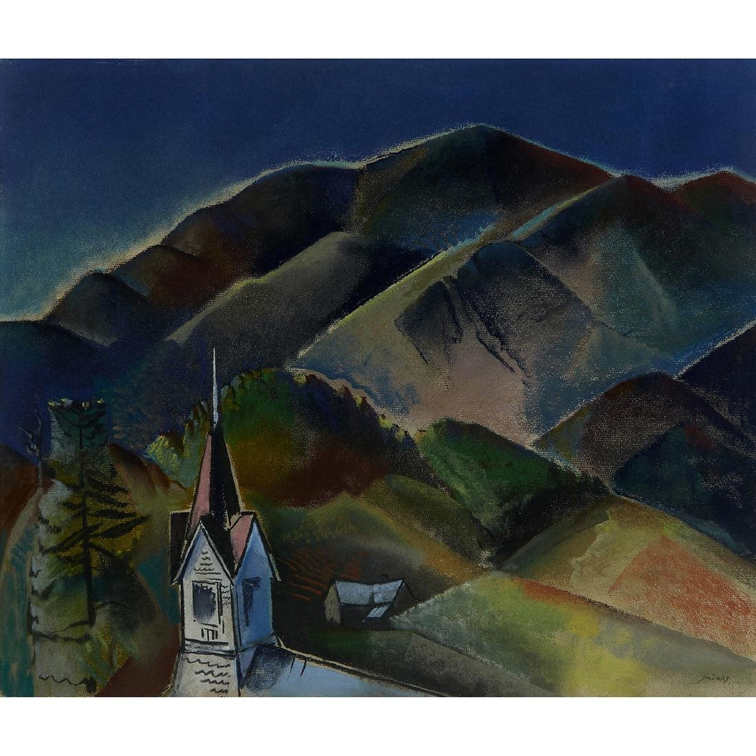 Will Stevens, Landscape