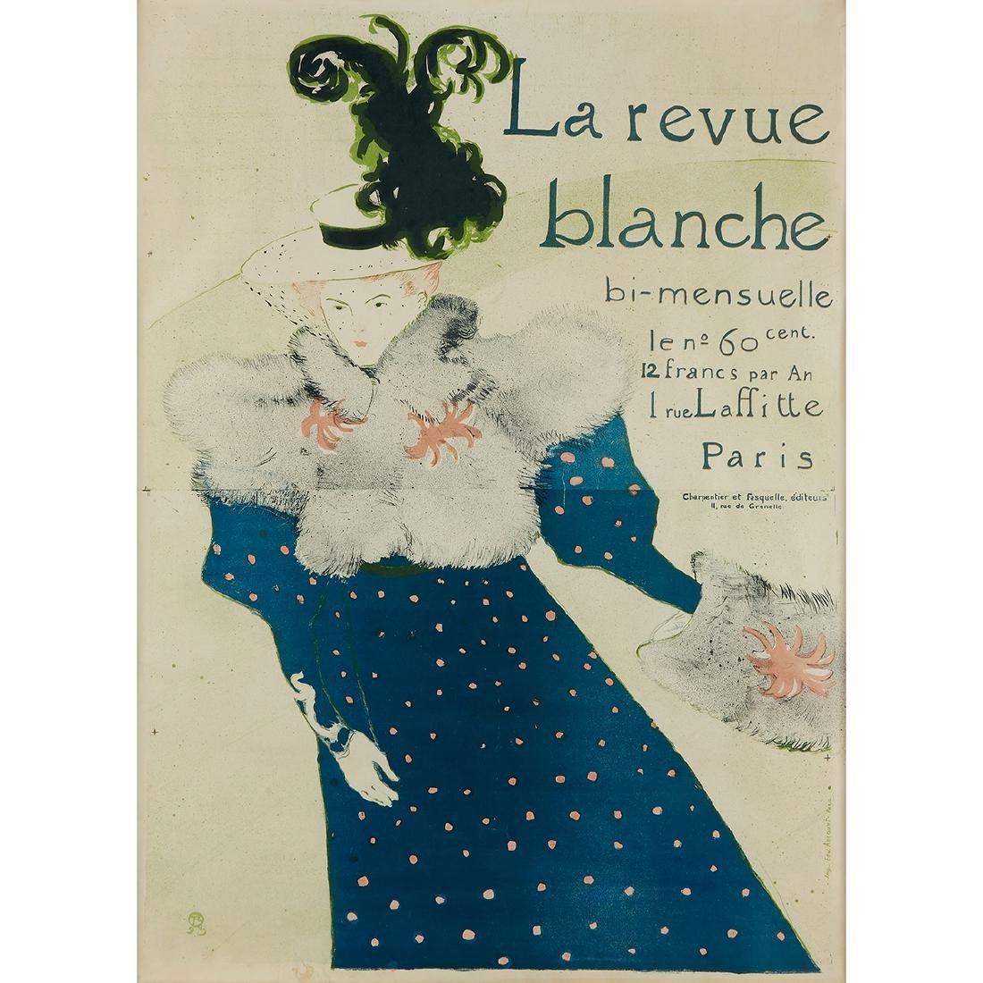 Henri de Toulouse Lautrec, La Revue Blanche