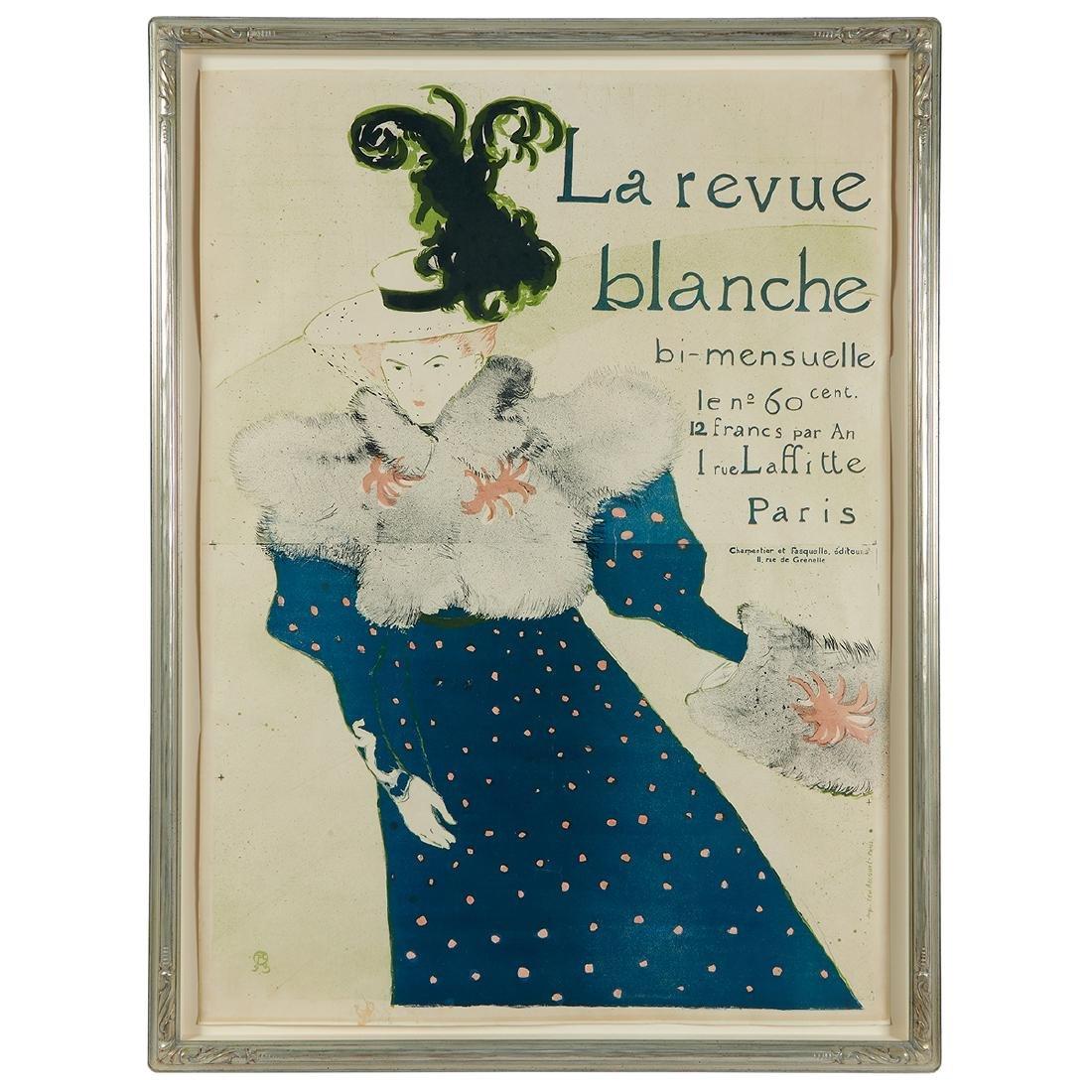 Henri de Toulouse Lautrec, La Revue Blanche - 2