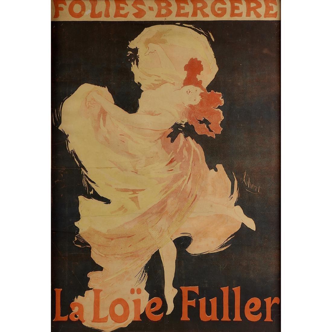 Jules Cheret, Folies-Bergère, La Loïe Fulle